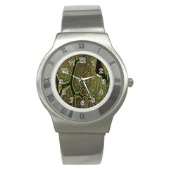 Fractal Complexity 3d Dimensional Stainless Steel Watch