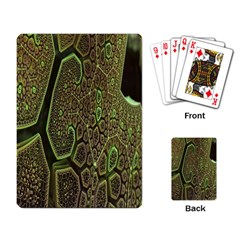 Fractal Complexity 3d Dimensional Playing Card