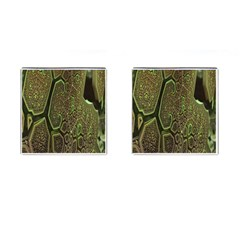 Fractal Complexity 3d Dimensional Cufflinks (Square)