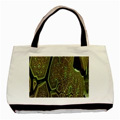 Fractal Complexity 3d Dimensional Basic Tote Bag