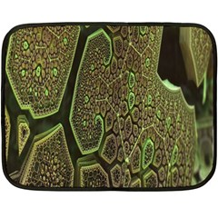 Fractal Complexity 3d Dimensional Double Sided Fleece Blanket (Mini)