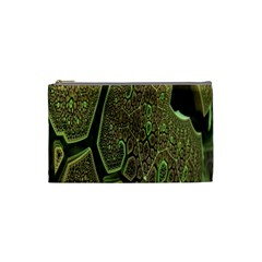 Fractal Complexity 3d Dimensional Cosmetic Bag (Small)