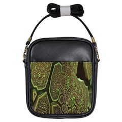 Fractal Complexity 3d Dimensional Girls Sling Bags