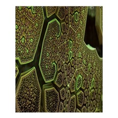Fractal Complexity 3d Dimensional Shower Curtain 60  x 72  (Medium)