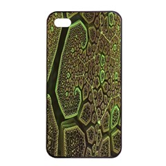 Fractal Complexity 3d Dimensional Apple iPhone 4/4s Seamless Case (Black)