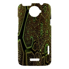 Fractal Complexity 3d Dimensional HTC One X Hardshell Case