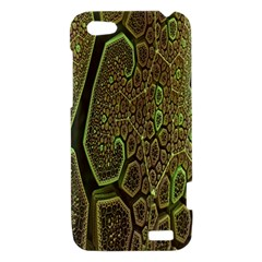 Fractal Complexity 3d Dimensional HTC One V Hardshell Case