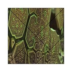 Fractal Complexity 3d Dimensional Acrylic Tangram Puzzle (6  x 6 )