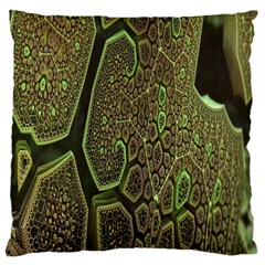 Fractal Complexity 3d Dimensional Large Cushion Case (Two Sides)