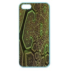 Fractal Complexity 3d Dimensional Apple Seamless iPhone 5 Case (Color)