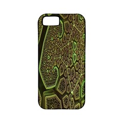 Fractal Complexity 3d Dimensional Apple iPhone 5 Classic Hardshell Case (PC+Silicone)