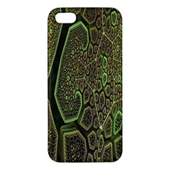 Fractal Complexity 3d Dimensional Apple iPhone 5 Premium Hardshell Case