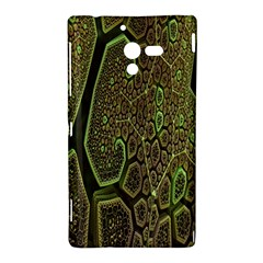 Fractal Complexity 3d Dimensional Sony Xperia ZL (L35H)