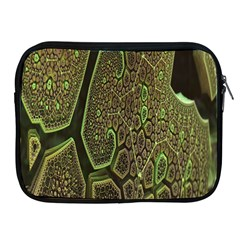 Fractal Complexity 3d Dimensional Apple iPad 2/3/4 Zipper Cases