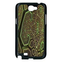 Fractal Complexity 3d Dimensional Samsung Galaxy Note 2 Case (Black)