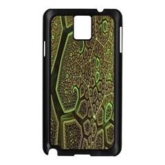 Fractal Complexity 3d Dimensional Samsung Galaxy Note 3 N9005 Case (Black)