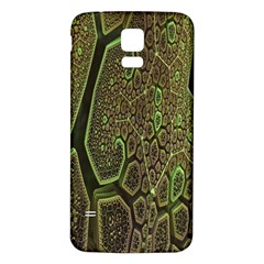 Fractal Complexity 3d Dimensional Samsung Galaxy S5 Back Case (White)