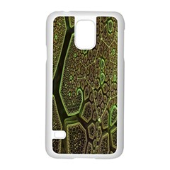 Fractal Complexity 3d Dimensional Samsung Galaxy S5 Case (White)