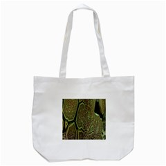 Fractal Complexity 3d Dimensional Tote Bag (White)