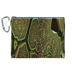 Fractal Complexity 3d Dimensional Canvas Cosmetic Bag (XL)