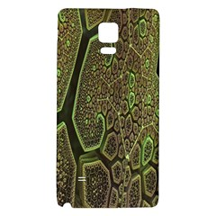 Fractal Complexity 3d Dimensional Galaxy Note 4 Back Case