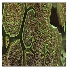 Fractal Complexity 3d Dimensional Large Satin Scarf (Square)