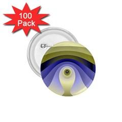 Fractal Eye Fantasy Digital  1.75  Buttons (100 pack)