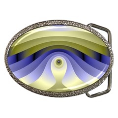 Fractal Eye Fantasy Digital  Belt Buckles
