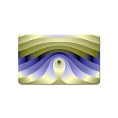 Fractal Eye Fantasy Digital  Magnet (Name Card)