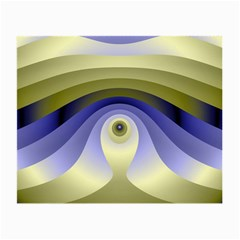 Fractal Eye Fantasy Digital  Small Glasses Cloth