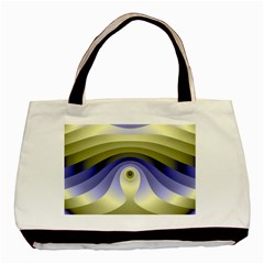 Fractal Eye Fantasy Digital  Basic Tote Bag