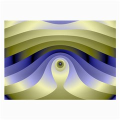 Fractal Eye Fantasy Digital  Large Glasses Cloth