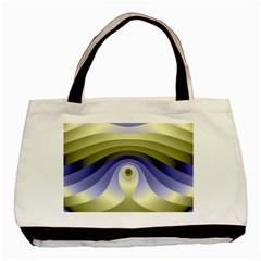Fractal Eye Fantasy Digital  Basic Tote Bag (Two Sides)
