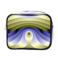 Fractal Eye Fantasy Digital  Mini Toiletries Bags