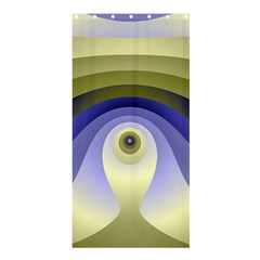Fractal Eye Fantasy Digital  Shower Curtain 36  x 72  (Stall)
