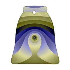 Fractal Eye Fantasy Digital  Bell Ornament (2 Sides)