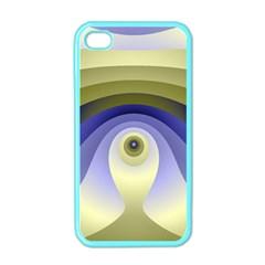 Fractal Eye Fantasy Digital  Apple iPhone 4 Case (Color)