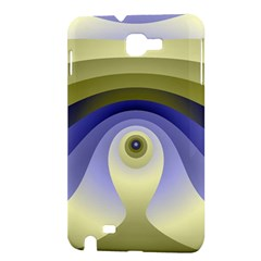Fractal Eye Fantasy Digital  Samsung Galaxy Note 1 Hardshell Case