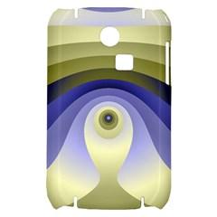 Fractal Eye Fantasy Digital  Samsung S3350 Hardshell Case