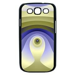 Fractal Eye Fantasy Digital  Samsung Galaxy S III Case (Black)
