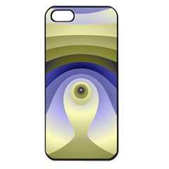 Fractal Eye Fantasy Digital  Apple iPhone 5 Seamless Case (Black)
