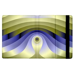 Fractal Eye Fantasy Digital  Apple iPad 3/4 Flip Case