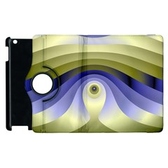 Fractal Eye Fantasy Digital  Apple iPad 3/4 Flip 360 Case