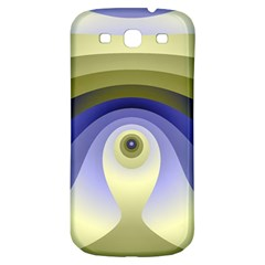 Fractal Eye Fantasy Digital  Samsung Galaxy S3 S III Classic Hardshell Back Case