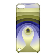 Fractal Eye Fantasy Digital  Apple iPod Touch 5 Hardshell Case with Stand