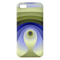 Fractal Eye Fantasy Digital  Apple iPhone 5 Premium Hardshell Case