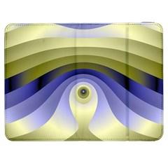 Fractal Eye Fantasy Digital  Samsung Galaxy Tab 7  P1000 Flip Case