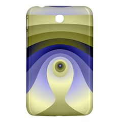 Fractal Eye Fantasy Digital  Samsung Galaxy Tab 3 (7 ) P3200 Hardshell Case