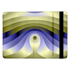 Fractal Eye Fantasy Digital  Samsung Galaxy Tab Pro 12.2  Flip Case