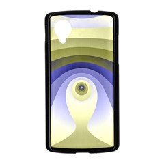 Fractal Eye Fantasy Digital  Nexus 5 Case (Black)